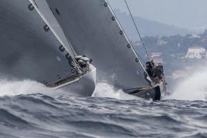 Les Voiles de St Tropez 2014 J Class report day 2