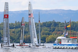 Little America's Cup International C-Class Challenge 2015 day 1 report