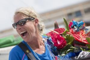 Miranda Merron takes seventh place in the Route du Rhum