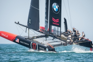 Oracle Team USA at the America's Cup World Series New York 2016