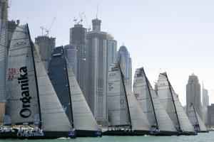 RC44 fleet in Dubai