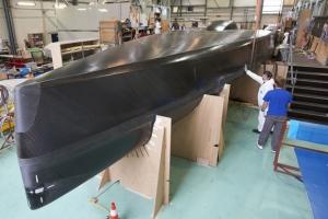Progress with the new Gitana IMOCA 60